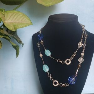 Bead and Stone Necklace